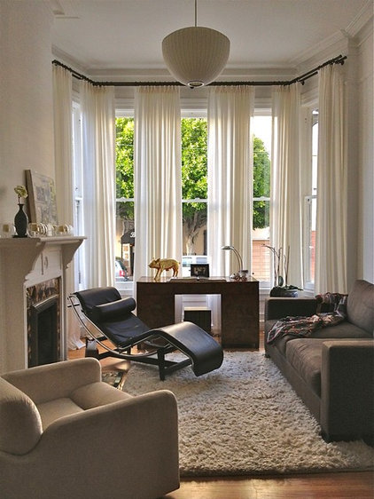 Eclectic Living Room by Ian Stallings