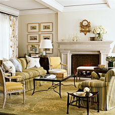 Traditional Living Room by Harrison Design Associates - DC