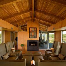 Contemporary Living Room by Baldinger Studio