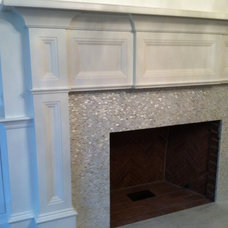 Traditional Living Room by Ideal Tile of Stamford