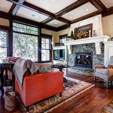 Traditional Living Room by Modern Design LLC
