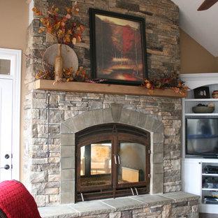 Hearthroom 44 Indoor/Outdoor Wood Burning Fireplace