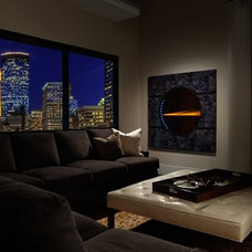 Contemporary Living Room by Heat & Glo Fireplaces: Designed to Inspire