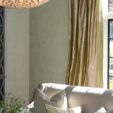 Contemporary Living Room by Heather Garrett Design