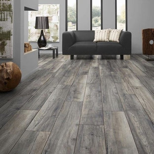 Heather Grey Plank Wood Floors
