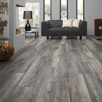 Heather Grey Plank Wood Floors