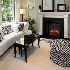 Traditional Living Room by Heatilator Fireplaces