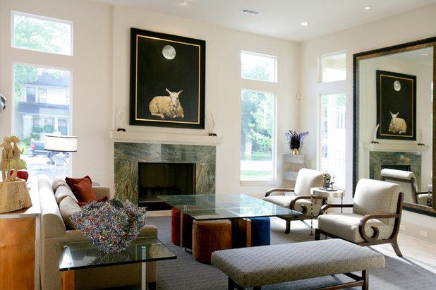 Modern Living Room by Brickmoon Design