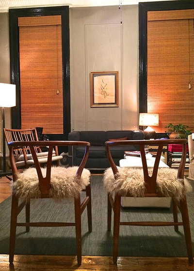 Midcentury Living Room by Alec Holland Interiors