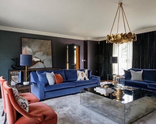 Traditional Living Room Ideas & Photos