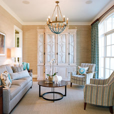 Eclectic Living Room by Elements Of Style Interiors, Inc.