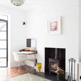 Danish Living Room Photo In London