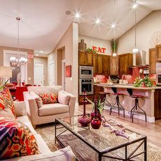 Traditional Living Room by Wonderland Homes