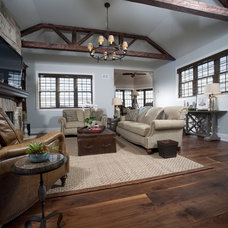 Traditional Living Room by Heritage Wide Plank Flooring
