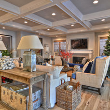Beach Style Living Room by Maison Luxe