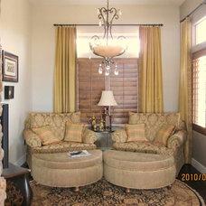 Traditional Living Room by Monique Jacqueline Design