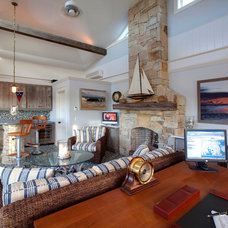 Beach Style Living Room by Bob Gothard Architectural Photographer