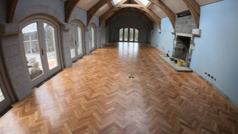 Herringbone floor in North Bovey