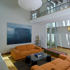 Contemporary Living Room by Michael Lee Architects