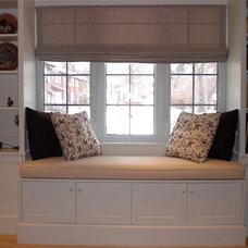 Traditional Living Room by David J. Design Inc.