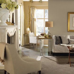 Example of a classic living room design in Columbus