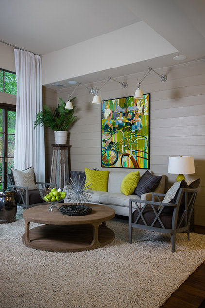 Transitional Living Room by Insidesign