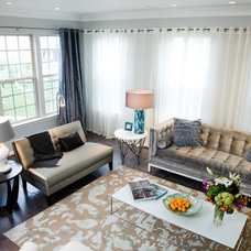 Eclectic Living Room by Patrick J. Baglino, Jr. Interior Design