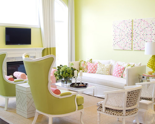 Apple Green Chair Design Ideas  Remodel Pictures  Houzz