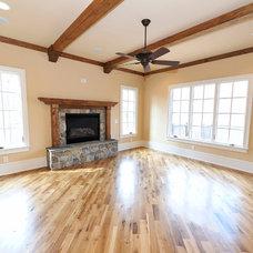 Transitional Living Room by Hardwoods4Less, LLC