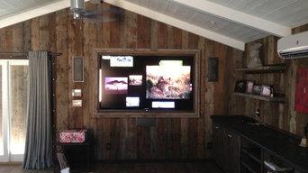 Hidden Hills Barn - Man Cave Media Room