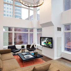 Contemporary Living Room by Electronics Design Group, Inc.
