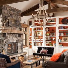 Eclectic Living Room High Encampent on Big Mountain