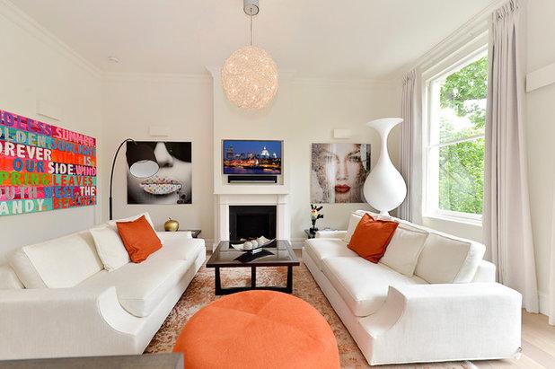 Scandinave Salon by Aflux Designs