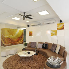Contemporary Living Room by Sonali shah