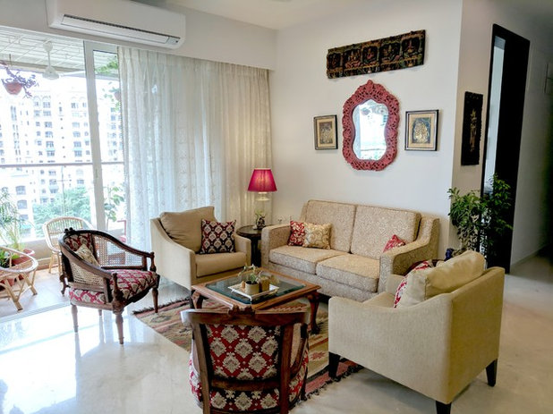 Eclectic Living Room by Ariyona Interior