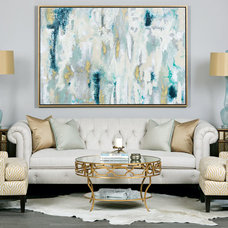 Traditional Living Room by High Fashion Home