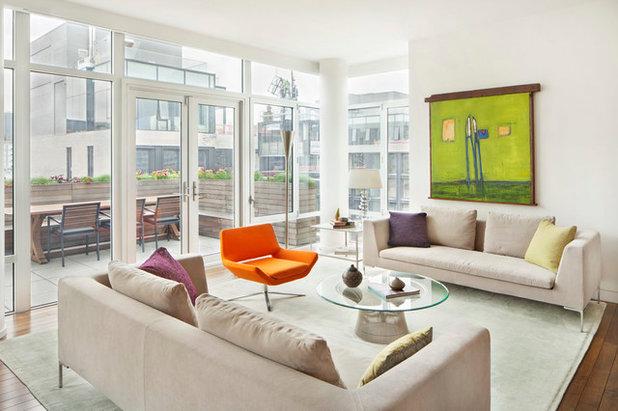Contemporain Salon by Billinkoff Architecture PLLC