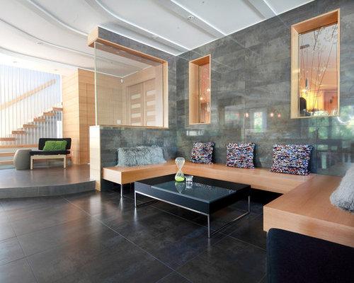High Ridge Ranch Living Room Design Ideas Renovations Photos