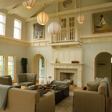 Traditional Living Room by Duffy Design Group