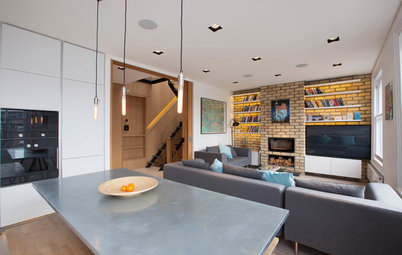 Houzz Tour: A Loft Conversion Transforms a Top Floor Victorian Flat