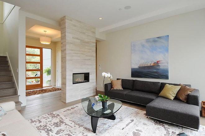 Modern Living Room by Kore Residential