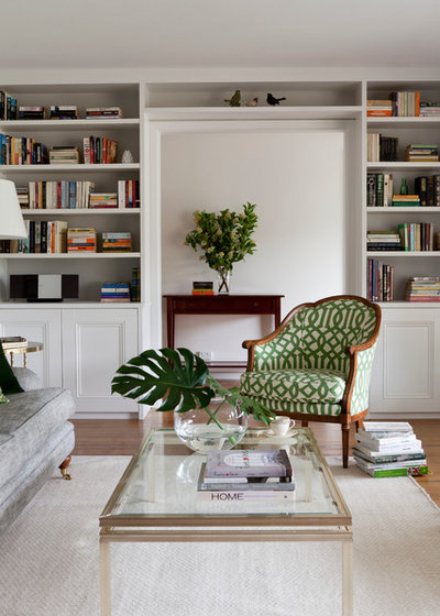 Traditional Living Room by Camilla Molders Design