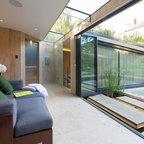 Highgate Garden Room Contemporary Living Room London