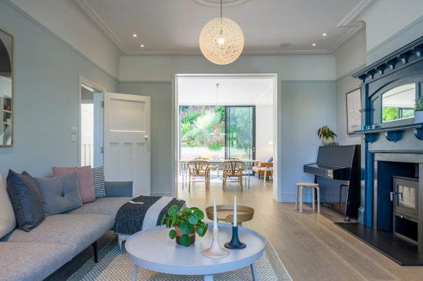 Scandinavian Living Room by Jones Associates Architects