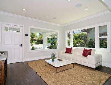 Highland Park Los Angeles Complete Remodel living room