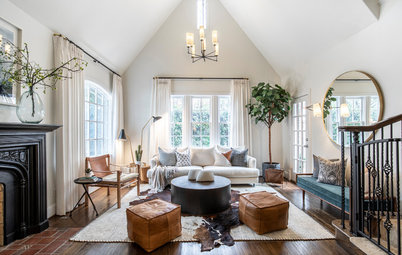 Houzz Tour: Not-Too-Tudor Style for New Parents in Texas