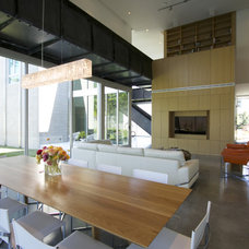 Contemporary Living Room by M+A Architecture Studio