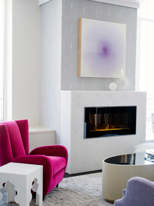 electric fireplace insert | houzz