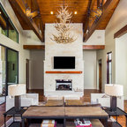 Nyc Loft Industrial Living Room New York By