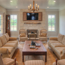 Farmhouse Living Room by Nathan Winchester Designs